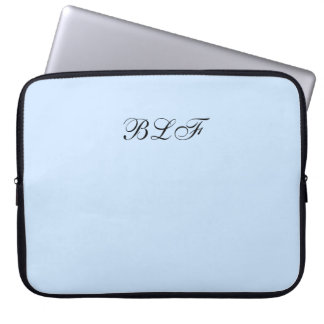 CHIC LAPTOP SLEEVE-SOLID 189 BLUE LAPTOP SLEEVE