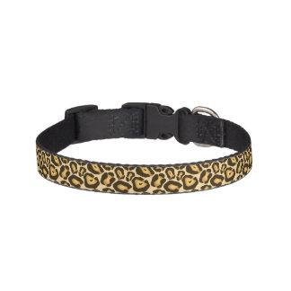 Chic Leopard Print Pet Collar