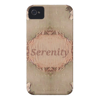 Chic Light Tan Peach Modern Serenity iPhone 4 Covers