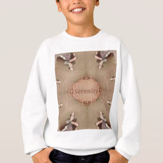 Chic Light Tan Peach Modern Serenity Sweatshirt