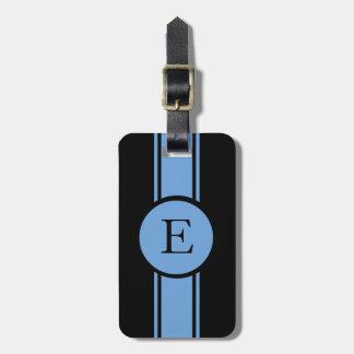 CHIC LUGGAGE/BAG TAG_153 BLUE/BLACK/MONOGRAM TAGS FOR LUGGAGE