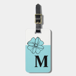 CHIC LUGGAGE/BAG TAG_PANTONE 2017_ISLAND PARADISE LUGGAGE TAG