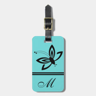 CHIC LUGGAGE/GIFT TAG_BUTTERFLY 07_133 ,MONOGRRAM LUGGAGE TAG