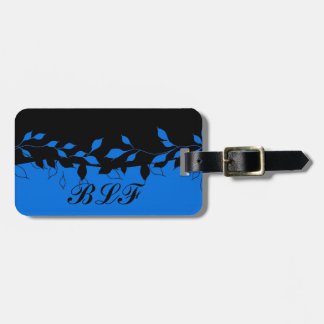 CHIC LUGGAGE/GIFT TAG_LEAVES 152 LUGGAGE TAG