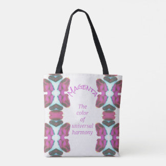 Chic 'Magenta Universal Harmony Tote Bag