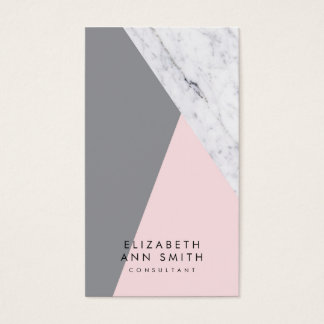 Chic Marble Abstract Business Card Pack