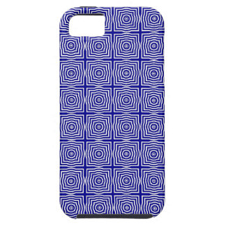 CHIC MOD GEO #1 PURPLE/WHITE iPhone 5 CASE