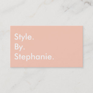 Fashion blogger business cards zazzle au chic modern pastel coral mint hue fashion blogger business card colourmoves