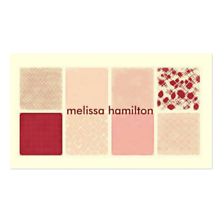 Chic Mommy Calling Card Pack Of Standard Business Cards