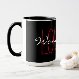 """CHIC MUG_""""LOVE IS WONDERFUL"""" MUG"""