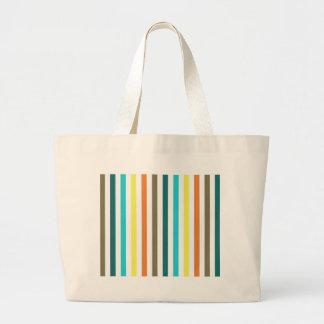 Chic Multicolored Stripes Bags