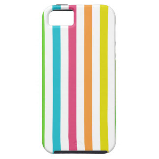 Chic Multicolored Stripes Case For iPhone 5/5S