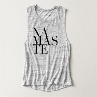Chic Namaste Yoga Muscle Tank