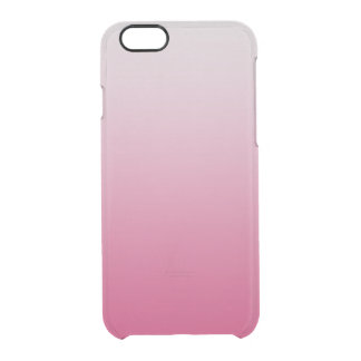 Chic Ombre | Raspberry Pink Clear iPhone 6/6S Case