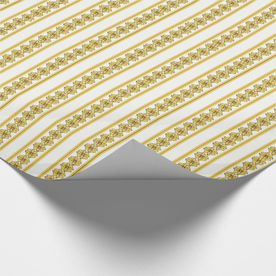 CHIC PANTONE 2017 COLOR_PRIMROSE YELLOW WRAPPING PAPER
