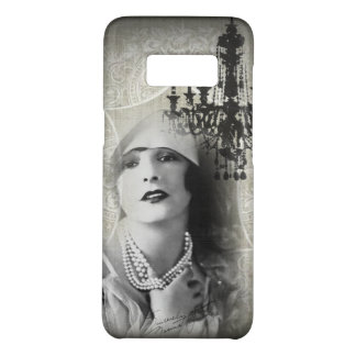 Chic Paris Vintage Chandelier great gatsby girl Case-Mate Samsung Galaxy S8 Case