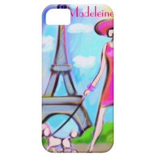 Chic Paris Woman iPhone Case