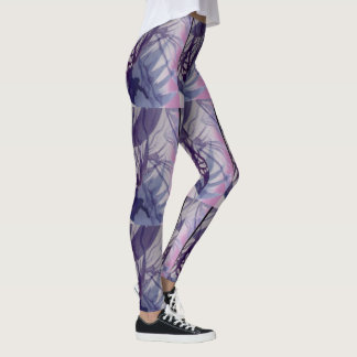Chic Pattern on Lavender and pink! Leggings