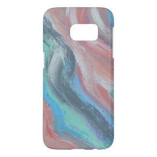 Chic Peach Art Phone Case
