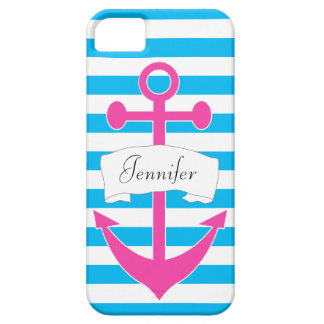 Chic Personalized Nautical iPhone 5/5S Case