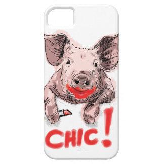 Chic Pig - iphone case