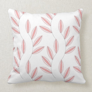 CHIC PILLOW _04 BLUSH FLORAL ON WHITE