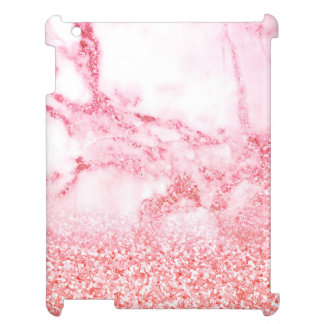 Chic Pink Elegant Rose Gold Glitter Marble Cover For The iPad 2 3 4