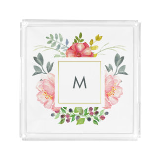 Personalised trays from Zazzle
