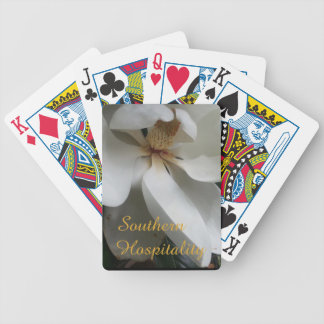 CHIC PLAYING CARD_SOUTHERN MAGNOLIA/HOSPITSLITY BICYCLE PLAYING CARDS