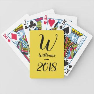 CHIC PLAYING CARDS_MONOGRAM/2018  DIY BICYCLE PLAYING CARDS