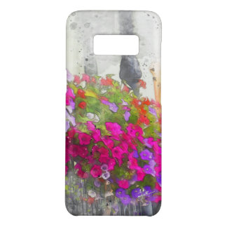 Chic Pretty Floral Watercolor Elegant Modern Case-Mate Samsung Galaxy S8 Case