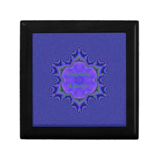 Chic Purple Lavender 'Simplicity Lifestyle' Gift Box