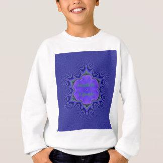 Chic Purple Lavender 'Simplicity Lifestyle' Sweatshirt