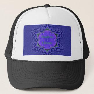 Chic Purple Lavender 'Simplicity Lifestyle' Trucker Hat