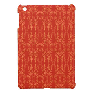 Chic Red Poppy Outline Savvy Case for iPad Mini iPad Mini Cases