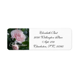 CHIC-RETURN ADDRESS LABEL_NEW DAWN ROSES RETURN ADDRESS LABEL