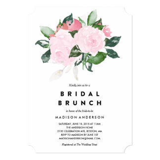 Chic Romance | Bridal Shower Brunch Invitation