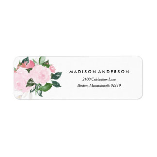 Chic Romance | Return Address Label