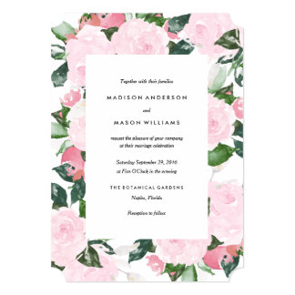 Chic Romance | Wedding Invitation