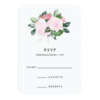 Chic Romance | Wedding Response Card