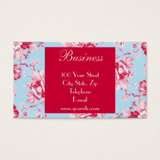 Chic Roses Business Card 1