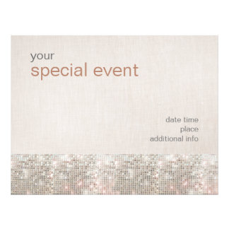 Chic Sparkle Sequins Flyer