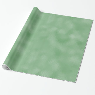 Chic Sparkling Mint Wrapping Paper
