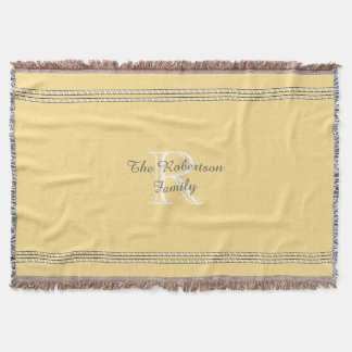 CHIC THROW_FAMILY_BUTTER/WHITE/GRAY THROW BLANKET