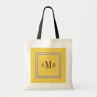 CHIC TOTE_PANTONE 2017 COLOR_YELLOW PRIMROSE TOTE BAG