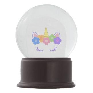 Chic Unicorn Snow Globe