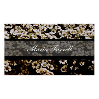 Chic Urban Enhanced Dasies Photographer Business Pack Of Standard Business Cards