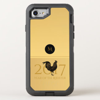 Chic Vintage Rooster Chinese New Year 2017 O case