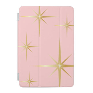Chic Vintage Starburst iPad Mini Cover - Pink