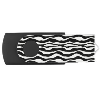 Chic Zebra Print USB USB Flash Drive